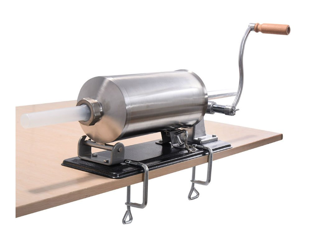 4.8L Sausage Stuffer Maker Meat Filler Machine Stainless Steel Commercial by Unknown