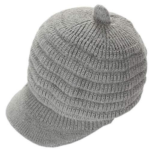 Knit Hat Ladies Autumn...