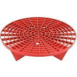 VIKING 927601 Bucket Insert Grit Trap, Red