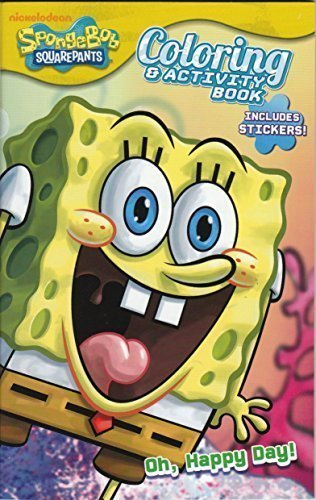 Spongebob Squarepants Coloring & Activity Book with (Spongebob Activity Kit)