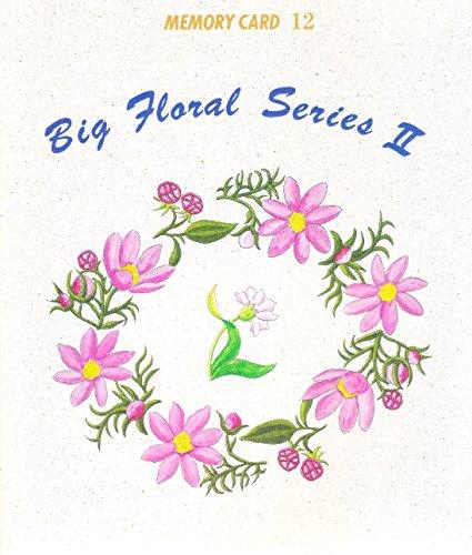 - Janome Memory Card 12 Big Floral Design