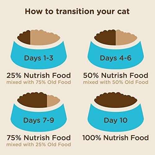 Rachael Ray Nutrish Super Premium Dry Cat Food 9