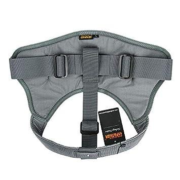 EXCELLENT ELITE SPANKER Tactical Dog Harness Military Training Patrol K9 Service Dog Vest Adjustable Working Dog Vest with Handle BLK-XL