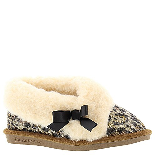 Bearpaw Girls NICOLE Slipper, GOLD,