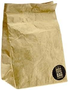 Luckies of London LUKBRW - Bolsa de papel para almuerzo, color marrón