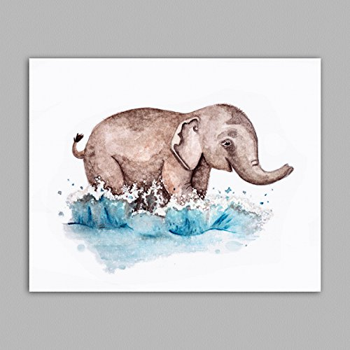 - Painted Baby Safari Animals Art Prints. Home/Nursery Decor (11