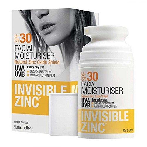 Invisible Zinc Facial Moisturizer SPF30