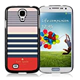 Samsung Galaxy S4 Kate Spade Black 001 screen phone case sweet and beautiful design