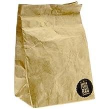 Luckies of London Brown Paper Lunch Bag (USLUKBRW)