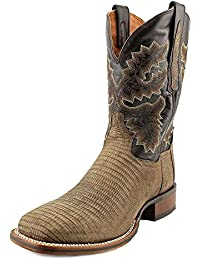 Dan Post Men's Hurst Lizard Cowboy Square Toe Boots, Leather