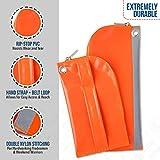 TUFLUG Heavy Duty Tool Zipper Pouches | 2 Pack | 12