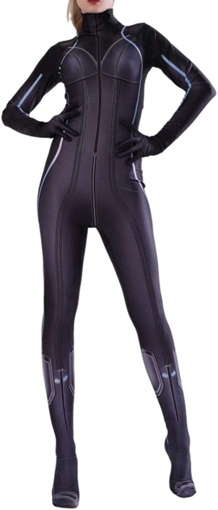 NDHSH Avengers Viuda Negra Disfraz Disfraz Mono Traje Cosplay ...