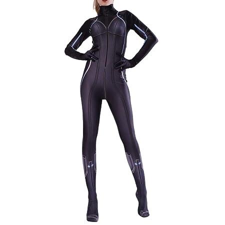 NDHSH Avengers Viuda Negra Disfraz Disfraz Mono Traje ...