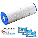 Pleatco Cartridge Filter PFAB100 Pentair / Pac Fab Mytilus B 100 GPM MA-100/160 Mitlus FMY 100 Mytilus 100 GPM MY 100 Mitra 100 GPM MA-100-160 Wet Institute w/ 3x Filter Washes