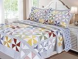 Textiles Plus Carnival Quilt, King