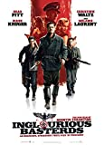 Inglorious Basterds One Sheet Historical War Fiction Action Movie Film Poster Print 24 by 36