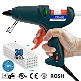 electronic crafts - Hot Glue Gun kits -- RAGNAROS 60 Watt best Hot Melt Glue Gun- High-Tech Electronic PTC heating technology For Arts & Crafts, & Sealing and Quick Repairs,Green (30 hot glue gun sticks INCLUDED)