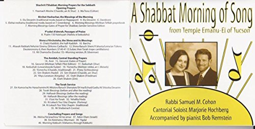 A Shabbat Morning of Song from Temple Emanu-El of Tucson by Temple Emanu-El of Tucson