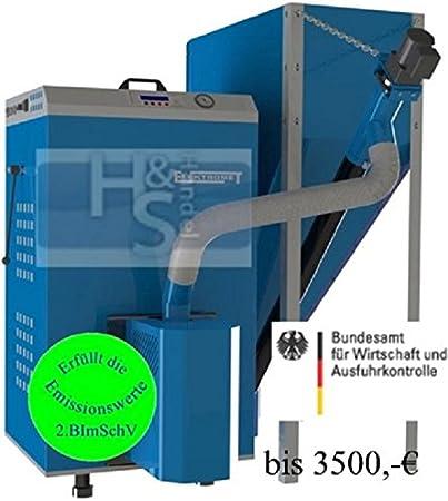 Pellets calderas EKO-PE compacto 20/2 - 20 kW recipiente de 540 Liter