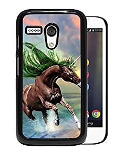 New Beautiful Custom Designed Cover Case For Motorola Moto G With Young Horse Phone Case