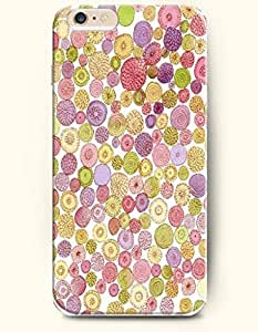 Floral Dot - Polka Dot Series - Phone Cover for Apple iPhone 6 Plus ( 5.5 inches ) - OOFIT Authentic iPhone Case