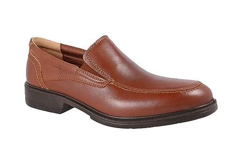 Zapatos Hombre Sport Tipo Mocasin de la Marca LUISETTI - Piel de Cordero Color Cuero con elásticos, Plantilla Extraible - 28700-69: Amazon.es: Zapatos y ...