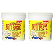 Boudreaux's Butt Paste, Diaper Rash Ointment, Jar 16 oz. (Quantity of 2)