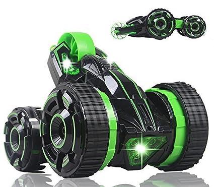 Amazon Com Liberty Imports Five Wheels Rc Stunt Car Remote Control