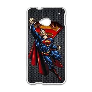 JIANADA Super Men White HTC M7 case