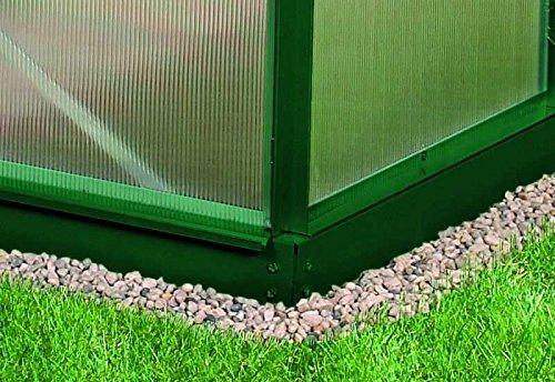 Vitavia Stahl-Fundament 7800, 6 cm für Gewächshäuser grün