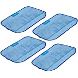 I-clean Washable Reusable Replacement Microfiber Mopping Cloths x 4pcs For iRobot Braava 380t 320 Mint 4200 5200 Robotic