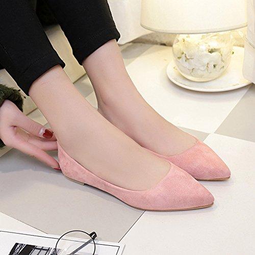 Para Ballerinas de Pink Q Desconocido Bailarinas 5 Mujer Welldone2017 Charol HXqXpvn