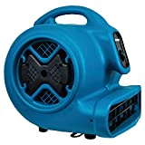 stackable speed queen - XPOWER P-630 1/2 HP 2800 CFM 3 Speed Professional Air Mover Carpet Dryer - Blue