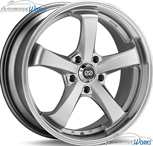 Enkei FALCON (18 x 7.5, 5 x 114.3) 45mm Offset, Hyper Silver, (1) Wheel/Rim