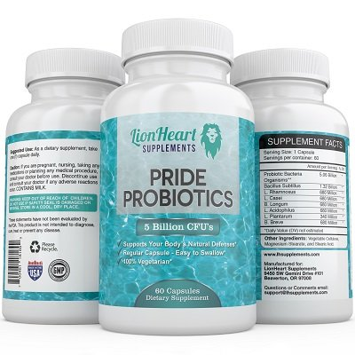 #1 Probiotic 5 Billion - Fast Constipation & IBS Relief for