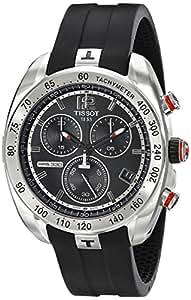 Tissot Men's T0764171705700 PRS330 Analog Display Swiss Quartz Black Watch