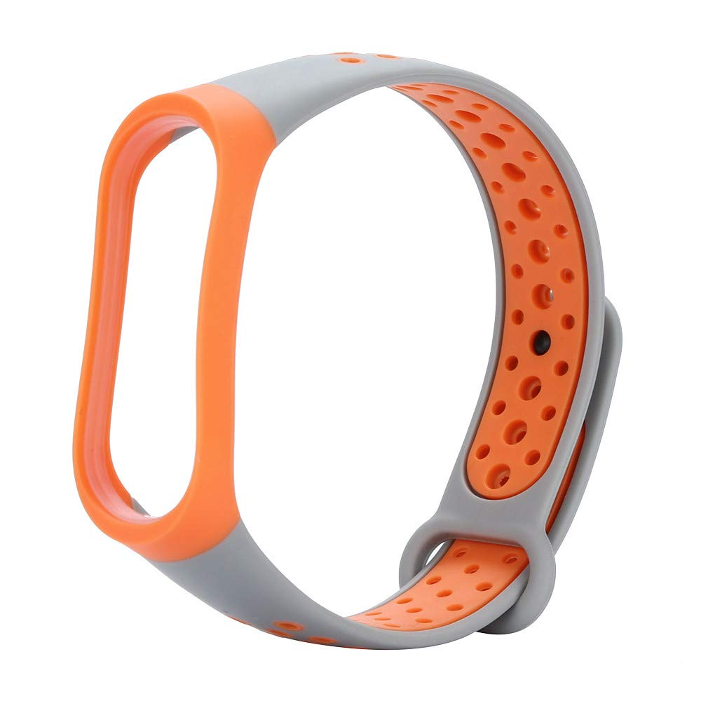samLIKE Soft Silica Gel Strap Replacement fit Xiaomi Mi Band 3,Sport Adjustable Wristband Band for Xiaomi Mi Band,Young Gift