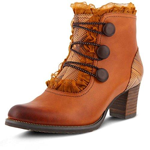 L`Artiste Womens Conchita Camel Boot - 37