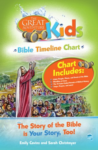 Great Adventure Kids Bible Timeline Chart (Bible History For Kids compare prices)