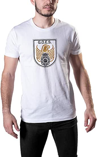 Aircops Camiseta G.O.E.S. (Grupo Operativo Especial de Seguridad) de la Policia Nacional: Amazon.es: Ropa y accesorios