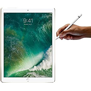 Apple iPad Pro 12.9-inch 256GB Silver with Apple Pencil Bundle (Wi-Fi Only) Newest Version Mid 2017