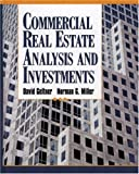 img - for Commercial Real Estate Analysis and Investments by David M. Geltner (2000-09-01) book / textbook / text book
