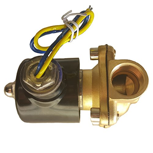 HFS (R) 110v Ac or 12v Dc Electric Solenoid Valve Water Air Gas, Fuels N/c - 1/4'', 1/2'', 3/4'', 1'' NPT Available (12V DC 3/4'' NPT) by HFS (Image #3)