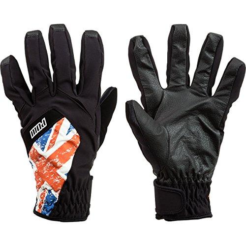 POW Men's Bandera Snowboard Ski Gloves, UK British Union Jack Flag