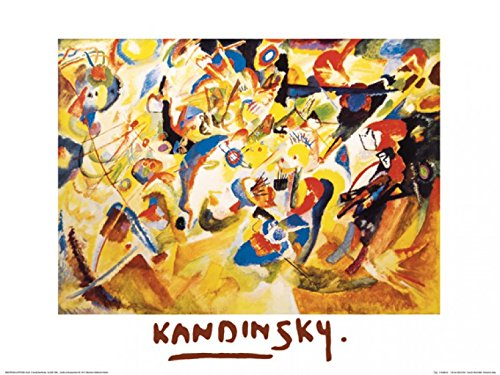 Posters: Wassily Kandinsky Poster Art Print - Study To Composition Vii, 1913