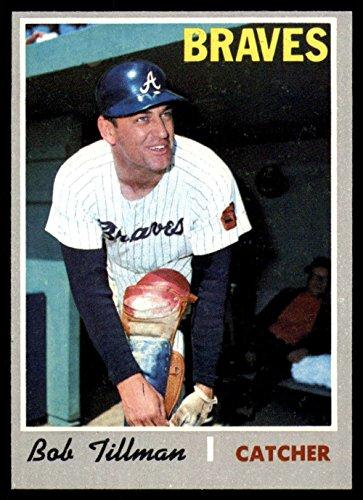Baseball MLB 1970 Topps #668 Bob Tillman NM Near Mint - 668 Mint