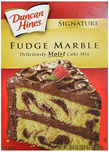 Duncan Hines Fudge Marble Cake Mix, 16.5 oz