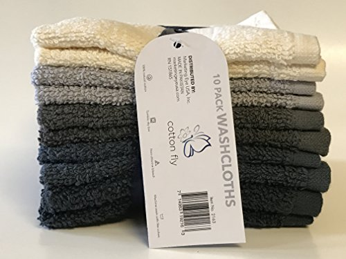 Cotton WashCloth Absorbent Washable Assorted product image