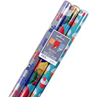 Hallmark 5EWR6215 Wrapping Paper, 120 sq. ft