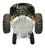 Polaris RZR XP-4 1000, 12 piece Complete Skid Plate Set by Ricochet Includeing Full Frame Skid Plate Set, Front and Rear A-Arm/CV Boot Guards , Rock Sliders, Footwell Protection, Rear Linkage Guards